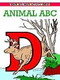 Animal Abc Beginning Coloring Book