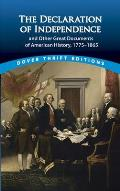 "Declaration Of Independence & Other Great Documents Of American History, 1775"" (Dover Thrift... by John Grafton (edt)"