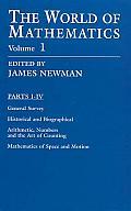 World Of Mathematics Volume 1
