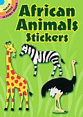 African Animals Stickers [With Stickers]
