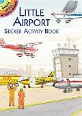 Little Airport Sticker Activity Book with Sticker