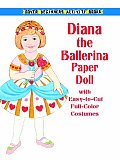 Diana The Ballerina Paper Doll