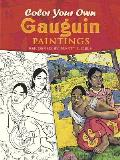 Color Your Own Gauguin Paintings (Coloring Books) Cover