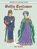 Gothic Costumes Paper Dolls