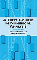 A First Course in Numerical Analysis 2ND Edition Cover