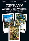Tiffany Stained Glass Windows: 16 Art Stickers (Fine Art Stickers)