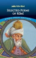 Selected Poems of Rumi (Dover Thrift Editions) Cover