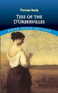 Tess of the D'Urbervilles (Dover Thrift Editions) Cover