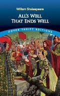 All's Well That Ends Well (Dover Thrift Editions) Cover