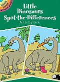Little Dinosaurs Spot-The-Differences Activity Book Cover