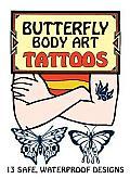 Butterfly Body Art Tattoos