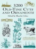3200 Old Time Cuts & Ornaments