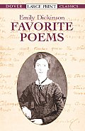 Favorite Poems (Large Print) (Dover Large Print Classics) Cover