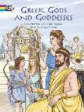 Greek Gods and Goddesses (Dover Coloring Book)