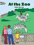 At The Zoo Coloring Book