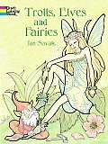Trolls, Elves and Fairies Coloring Book (Dover Pictorial Archives)