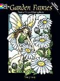 Garden Fairies Stained Glass Coloring Book (Dover Pictorial Archives)