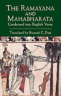 Ramayana and Mahabharata Condensed Into English Verse