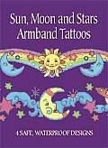 Sun, Moon and Stars Armband Tattoos