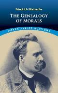 The Genealogy of Morals (Dover Thrift Editions) Cover