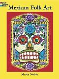 Mexican Folk Art Coloring Book