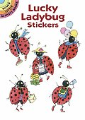 Lucky Ladybug Stickers (Dover Little Activity Books)