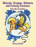 Wizards Dragons Unicorns & Fantasy Creatures Iron On Transfers