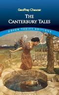 The Canterbury Tales (Dover Giant Thrift Editions)