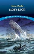 Moby-Dick (Dover Giant Thrift Editions) Cover