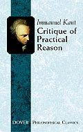 Critique of Practical Reason (Dover Books on Western Philosophy) Cover