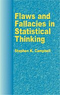 Flaws and Fallacies in Statistical Thinking Cover