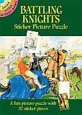 Battling Knights Sticker Picture Puzzle