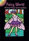 Fairy World Stained Glass Coloring Book
