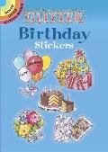 Glitter Birthday Stickers