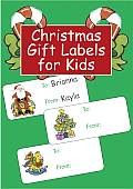 Christmas Gift Labels for Kids