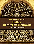 Masterpieces of Italian Decorative Ironwork (Dover Pictorial Archive) Cover
