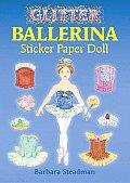 Glitter Ballerina Sticker Paper Doll With Stickers