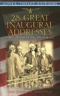 28 Great Inaugural Addresses (Dover Thrift Editions) Cover