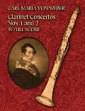 Clarinet Concertos Nos. 1 and 2 in Full Score