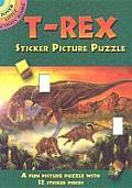 T-Rex Sticker Picture Puzzle