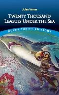 Twenty Thousand Leagues Under the Sea (Dover Thrift Editions) Cover