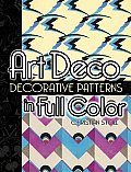 Art Deco Decorative Patterns in Full Color (06 Edition) Cover