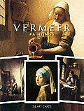 Vermeer Paintings: 24 Art Cards