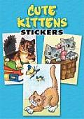 Cute Kittens Stickers 36 Stickers 9 Different Designs