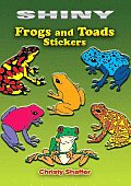 Shiny Frogs & Toads Stickers