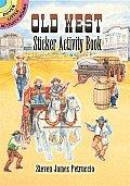 Old West Sticker Activity Book