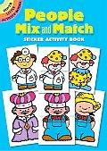 People Mix & Match Sticker Activity Book