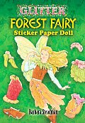 Glitter Forest Fairy Sticker Paper Doll Cover