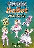Glitter Ballet Stickers