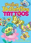Smiley Butterflies Tattoos